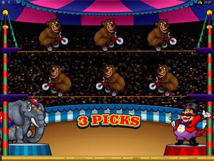 The Grand Circus Bonus Game