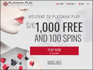 Platinum Play Casino Home